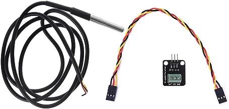 BASSK DS18B20 - Adaptador para sensor de temperatura (impermeable)