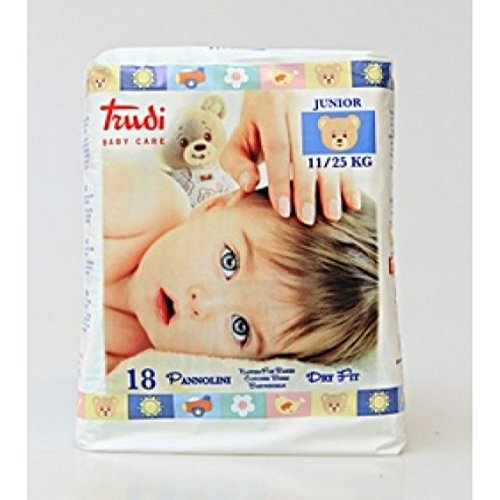Trudi Baby Care Dry Fit Size 5 Junior (11-25Kg) 21 pcs.