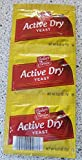 Bakers Corner Active Dry Yeast, 0.25 Ounce, 3 Count Pack (.75 oz TW)