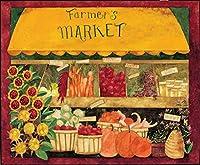 簡素な雑貨屋 Farmer's Market アメリカン 雑貨 ナンバープレート ヴィンテージ風 看板 アンティーク レトロ