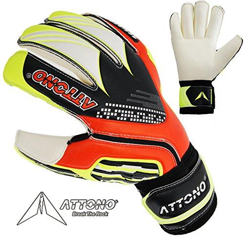 ATTONO Torwarthandschuhe Resistance Fingersave Torwart Handschuhe