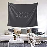 TANGOGO Tapestry Funny One Direction Wall Hanging Home Decor for Living Room Bedroom Dorm Room 60 W X 51 H Inches