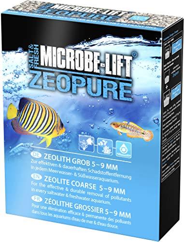 MICROBE-LIFT Zeopure – Zeolith Filtermedium, hilft bei Algen, Giftstoffen und Schwermetallen im Aquarium (500 ml)