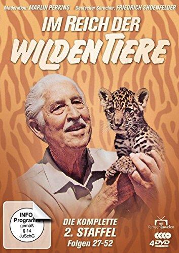 Im Reich der wilden Tiere - Die komplette 2. Staffel / Folgen 27-52 (Fernsehjuwelen) [4 DVDs]
