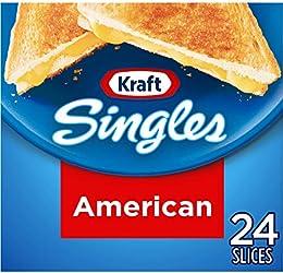 Kraft Singles American Cheese Slices (24 Slices)