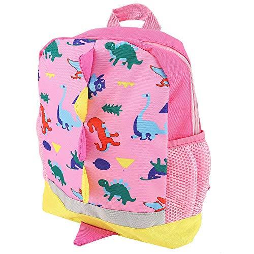 DAUERHAFT Mochila para bebé, Transpirable y Duradera, Herramienta de Almacenamiento para bebés Correa Ajustable para el Hombro,(Pink)