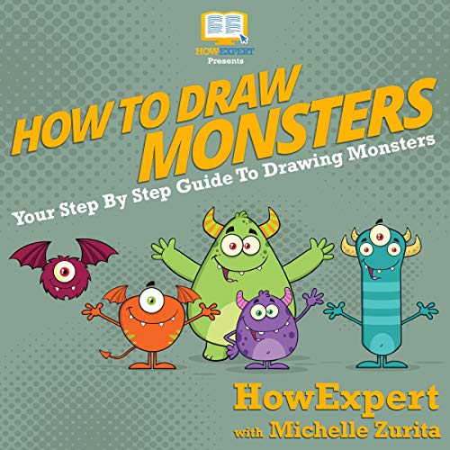 How to Draw Monsters audiobook cover art