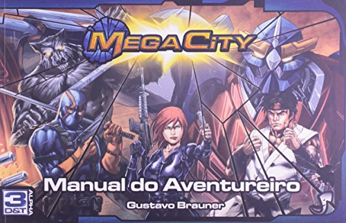 Mega City. Manual do Aventureiro