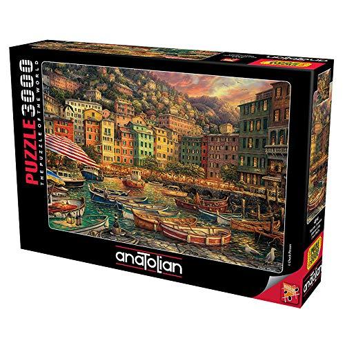 Anatolian Puzzle 3000 Teile - Vibrationen aus Italien | Puzzle-Größe 120cmx85cm (H)