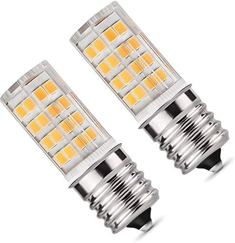 E17 LED Bulb Microwave Oven Light Dimmable 5 Watt Warm White 3000K 52X2835SMD AC110 130V Pack product image