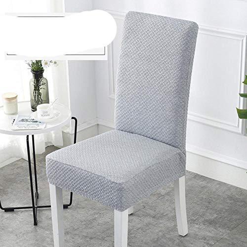 GFFGA 1 Uds, Funda para Silla de Comedor de Spandex de algodón súper Grueso, Fundas universales para sillas de una Pieza, Silla de Respaldo Alto Lavable a máquina
