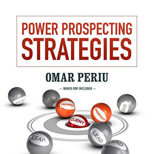 Power Prospecting Strategies audiobook cover art