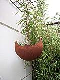 Zen Man Macetero para plantas con aspecto oxidado, para colgar velas, de 0,5 cm, 25 x 25 x 15 cm, 101631