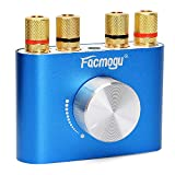 F900 Mini Bluetooth Power Amplifier Wireless Audio Receiver, Stereo Hi-Fi Digital Amp 2 Channel 50W 2 with AUX/USB/Bluetooth Input (No Adapter)