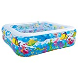 Jilong Sea World Square Pool - Piscina Infantil Hexagonal de Gran tamaño con Animales...