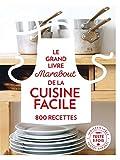 Grand Livre Marabout de la Cuisine facile - 800 recettes