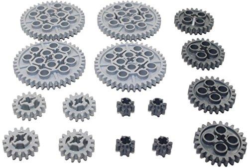 LEGO 16pc Technic gear SET by LEGO