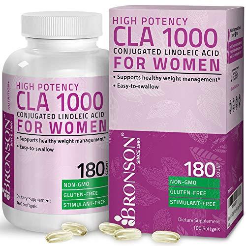 CLA for Women 1000 mg High Potency 180 Softgels