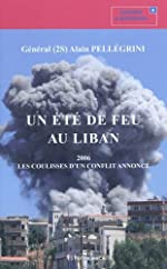 Un été de feu au Liban d'Alain Pellégrini
