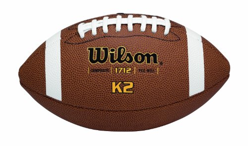 Wilson K2 Composite Football - Pee Wee