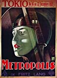 Metropolis Movie Poster (27,94 x 43,18 cm)