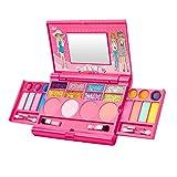 Liamostee - Juego de Maquillaje para niñas con Sombras de Ojos, Brillo de Labios, Colorete, Kit de cosméticos de Princesa