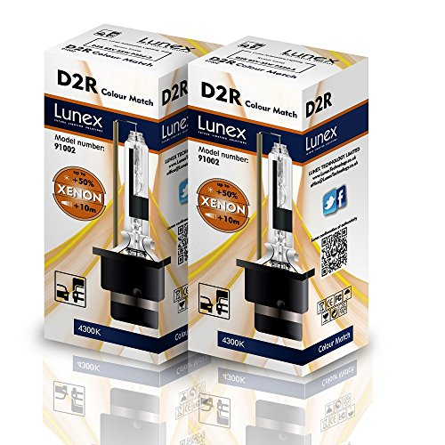 Lunex D2R Xenarc Phare Lampe au xénon ampoule de rechange (4300K)
