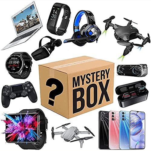 Mystery Box, Lucky Blind Box (elektronisk utrustning) Lucky Box kan öppnas: De senaste mobiltelefonerna, drönare, smarta klockor, luftrenare etc. - Allt är möjligt!