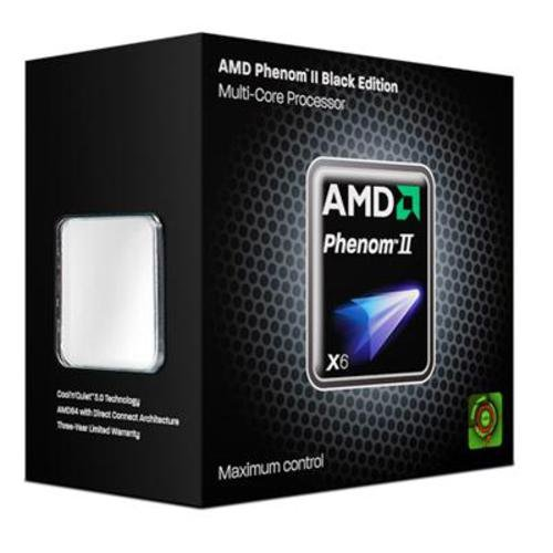 AMD Socket AM3 Phenom II X6 1090T Box processor (3200MHz, L2/L3-Cache)
