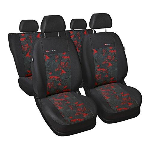 GSC Sitzbezüge Universal Schonbezüge kompatibel mit Ford Fiesta