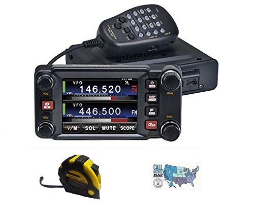 Bundle - 3 Items - Includes Yaesu FTM-400XD 50W 2M/70CM Mobile Radio with The New Radiowavz Antenna Tape (2m - 30m) and HAM Guides Quick Reference Card. Buy it now for 689.95