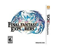 Final Fantasy Explorers Nintendo 3DS ファイナルファンタジー探検ニンテンドービデオゲーム 英語北米版 [並行輸入品]