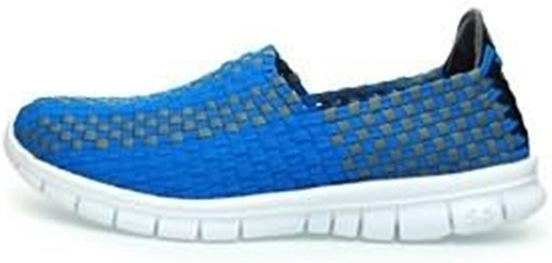 Men's Fashion Men's Fashion Athletic shoes Strip Pattern Slip On Splice Vamp Leisure Sneaker shoes