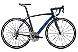 Kestrel Legend Shimano 105 Bicycle, Satin Carbon/Blue Gray, 55cm/Medium