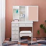 Moderna cómoda del dormitorio estilo chica con cajones y tocador,C