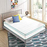ZINUS 10 Inch Memory Foam Spring Hybrid Mattress/Euro Top Innerspring Mattress/Green Tea-Infused Foam/CertiPUR-US Certified/Mattress-in-a-Box, Full