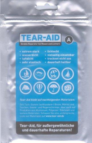 Amesbichler Waldhausen Reparatieset Tear AID (A) voor paardendekens, kunststof zadels, bergsport, camping en outdoor, watersport, tenten – bij scheuren en gaten