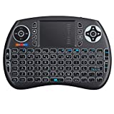 Neoteck Bluetooth Keyboard Mini Touchpad Mouse, Wireless Bluetooth 3.0 Keyboard, LED Backlit Rechargeable