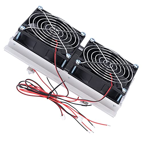 KAKAKE Refrigeración de semiconductores, Buena practicidad Sistema de refrigeración Funcionamiento Sencillo Refrigeración de Espacios reducidos para Camas de Mascotas Enfriamiento para