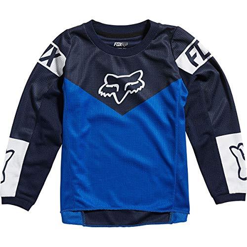 Fox Racing Kids 180 REVN Jersey, Blue, Small