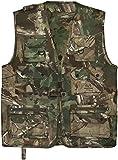 normani Outdoor Jagd- Angler Weste mit vielen praktischen Taschen� Farbe Hunting Camo Größe 5XL