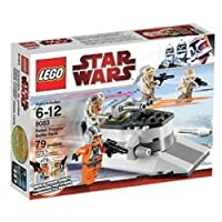 Includes 1 Zev Senesca and 3 Rebel troopers with new Hoth helmet minifigures Ice cutter includes 2 flick fire missiles, rotating gun and cargo box Create your own Hoth battle by adding #8084 Snowtrooper Battle Pack Opening scene of Empire Strikes Bac...