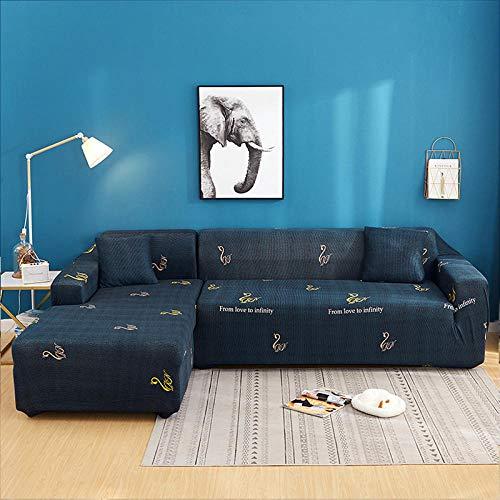 Antideslizante Protector Cubierta de Muebles,Fundas estampadas fundas de sofá elásticas para sala de estar, funda elástica para silla de sofá decoración del hogar, 1 plaza, 90-140 cm (1 pieza)