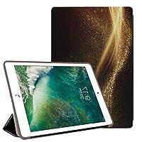 PRINDIY iPad Air 2/iPad Air 保護ケース,キズ防止 耐衝撃 三つ折りブラケット PC + PU 耐摩耗性 3つ折り スタンド機能付き バックカバー iPad Air 2/iPad Air Case-TADS09