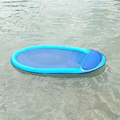 nobrand KXDSM Aufblasbare Schwimm Stuhl Pool Floats Strandbett Luftmatratze Lounge Chair Erwachsene im Freien Spielraum Relax Air-Schwimmen-Ring Hammock (Color : DE0448BE)