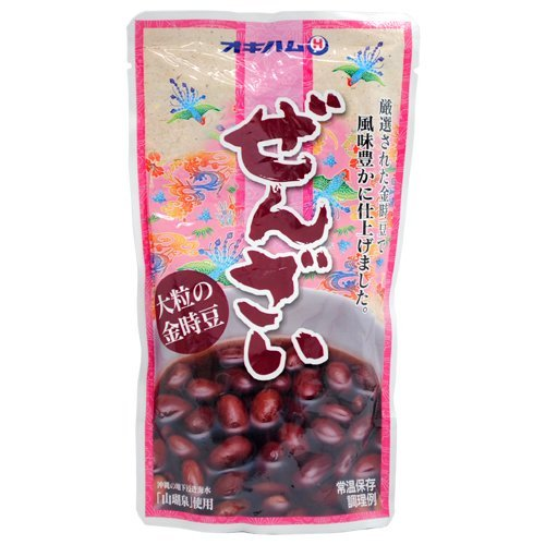 ぜんざい(大粒の金時豆) 10袋