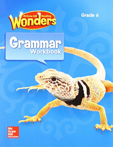 Reading Wonders Grammar Practice Workbook, Student Edition Grade 6