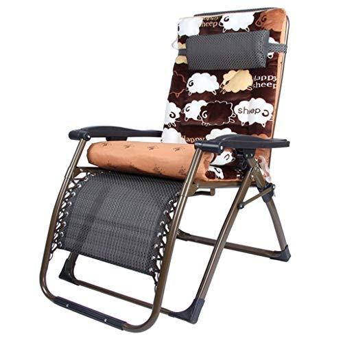 WJJJ Stuhl Lehnstühle Klappstuhl Gartenstuhl Mittagspause Stuhl Lazy Chair Sessel Multifunktional Verstellbarer Sonnenstuhl (Farbe: B)