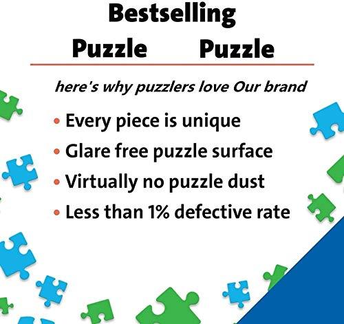 Houten puzzel 1000 stukjes Kinderen Jigsaw Unicorn Horse Dream Beauti Animal S Landschapspuzzels Educatief voor kinderen Animatie Pairing Puzzles-75X50Cm