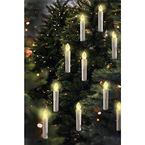 Funk-Weihnachtsbaum-Beleuchtung Polarlite PL-WK20I PL-8392840 Warm-Weiß
